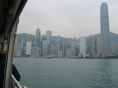Coming To Hong Kong on the Star Ferry